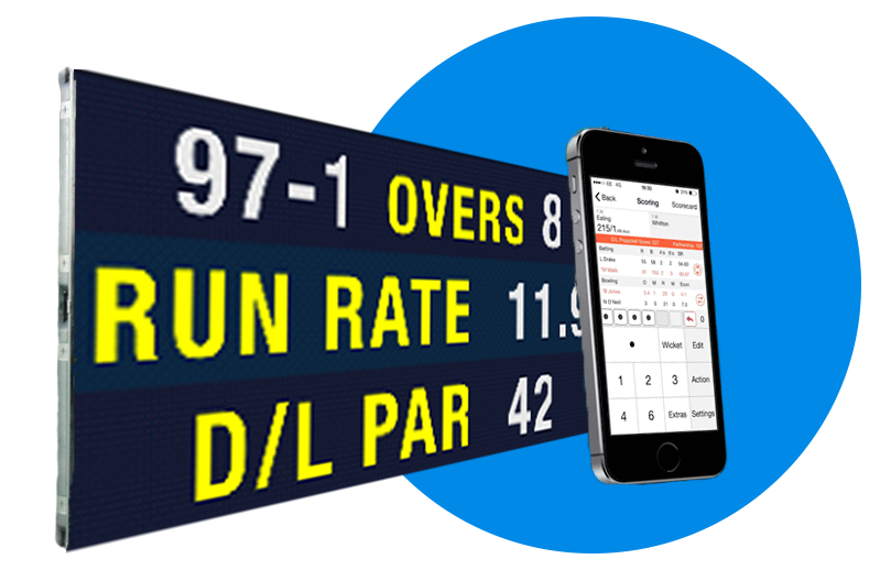 Quickscore LED Smart Scoreboards