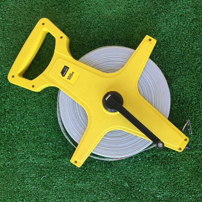100m standard firbreglass tape measure