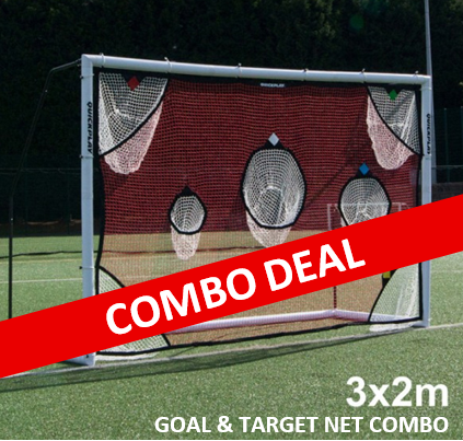 3m goal and target net combo