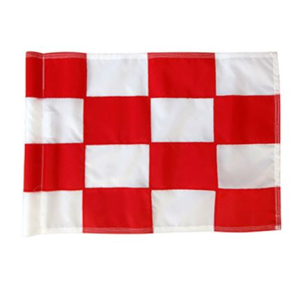 Tournament Pole , HD Flag & Aluminium Cup Set