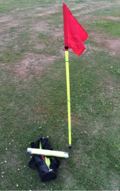 Collapsible Corner Flags - set of 4