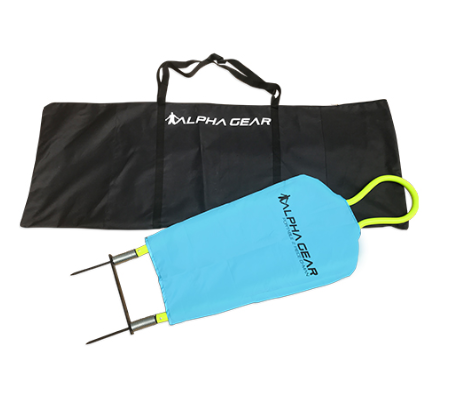 D man carry bag