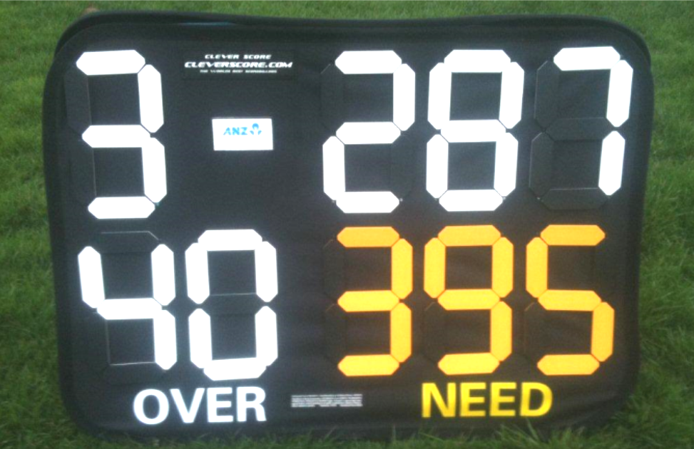 Flexi Cricket Scoreboard