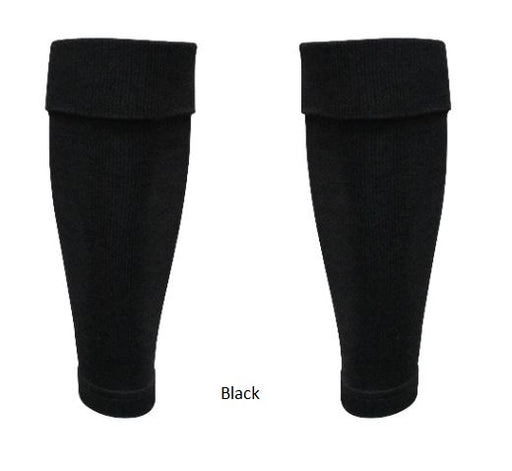 Gioca Footless Socks - black