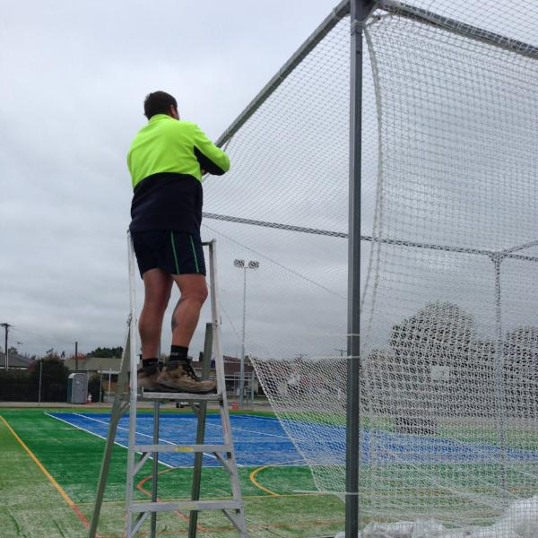 Outdoor Net Installation