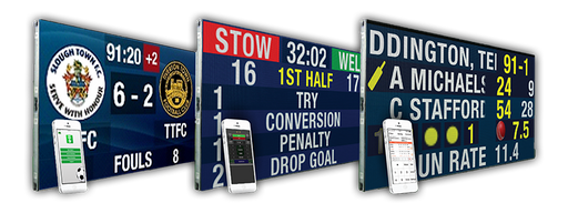 Quickscore SMART Scoreboards