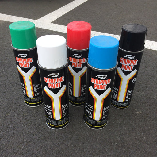 Striping paint for concrete
