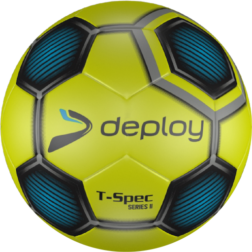 Deploy T-Spec Training Football - yellow/lime