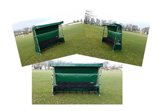 Temporary player shelter