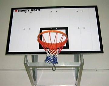 Wall mounted goal