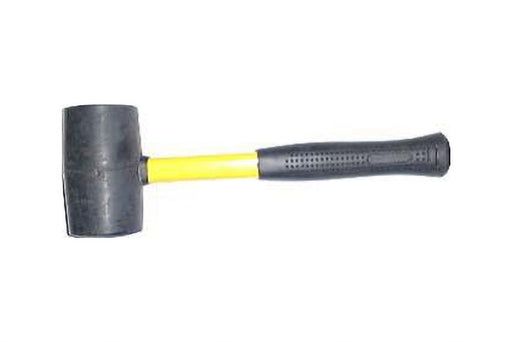 2lb rubber mallet with fibreglass handle