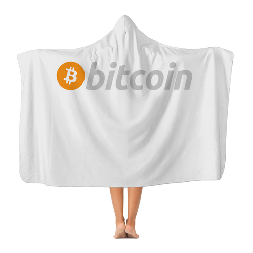 Bitcoin Classic Adult Hooded Blanket