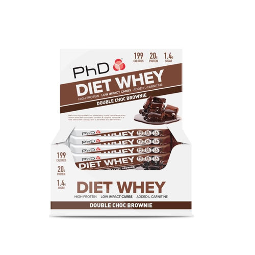 PhD Nutrition Diet Whey Bars