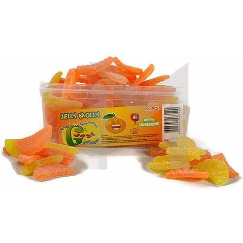 Jelly Molly Sugar Coated Tangerine And Orange Slices (Halal)