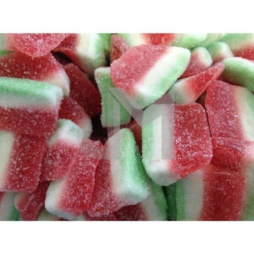 Jelly Molly Sugar Coated Watermelon Sliced - 1Kg Packet
