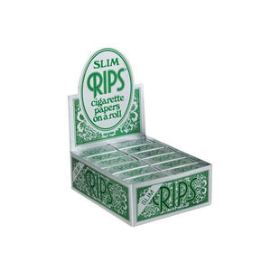 24 Rips Green Slim Rolling Papers