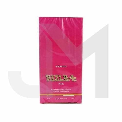 50 Pink Regular Rizla Rolling Papers