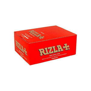 50 Red King Size Rizla Rolling Papers