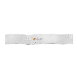 Bitcoin Satin Sports Scarf