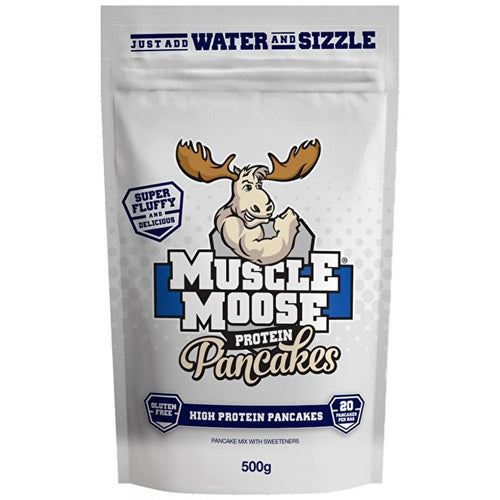 Muscle Moose Protein Pancakes