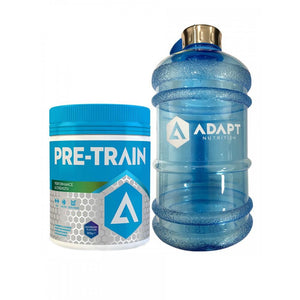 Adapt Nutrition Pre Train 300g + Adapt Water Jug