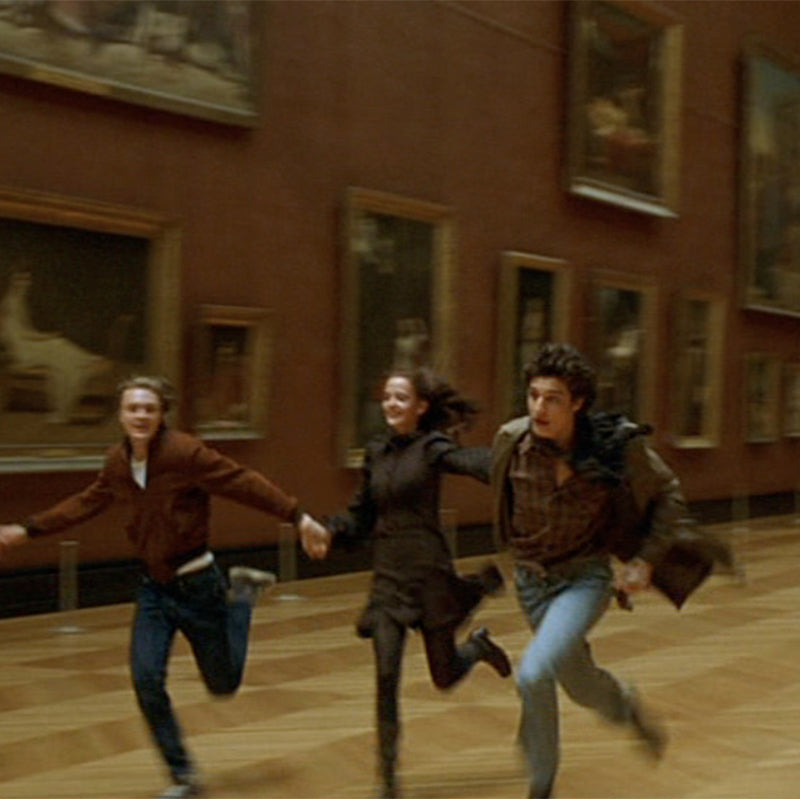 The Dreamers movie Louvre Museum scene