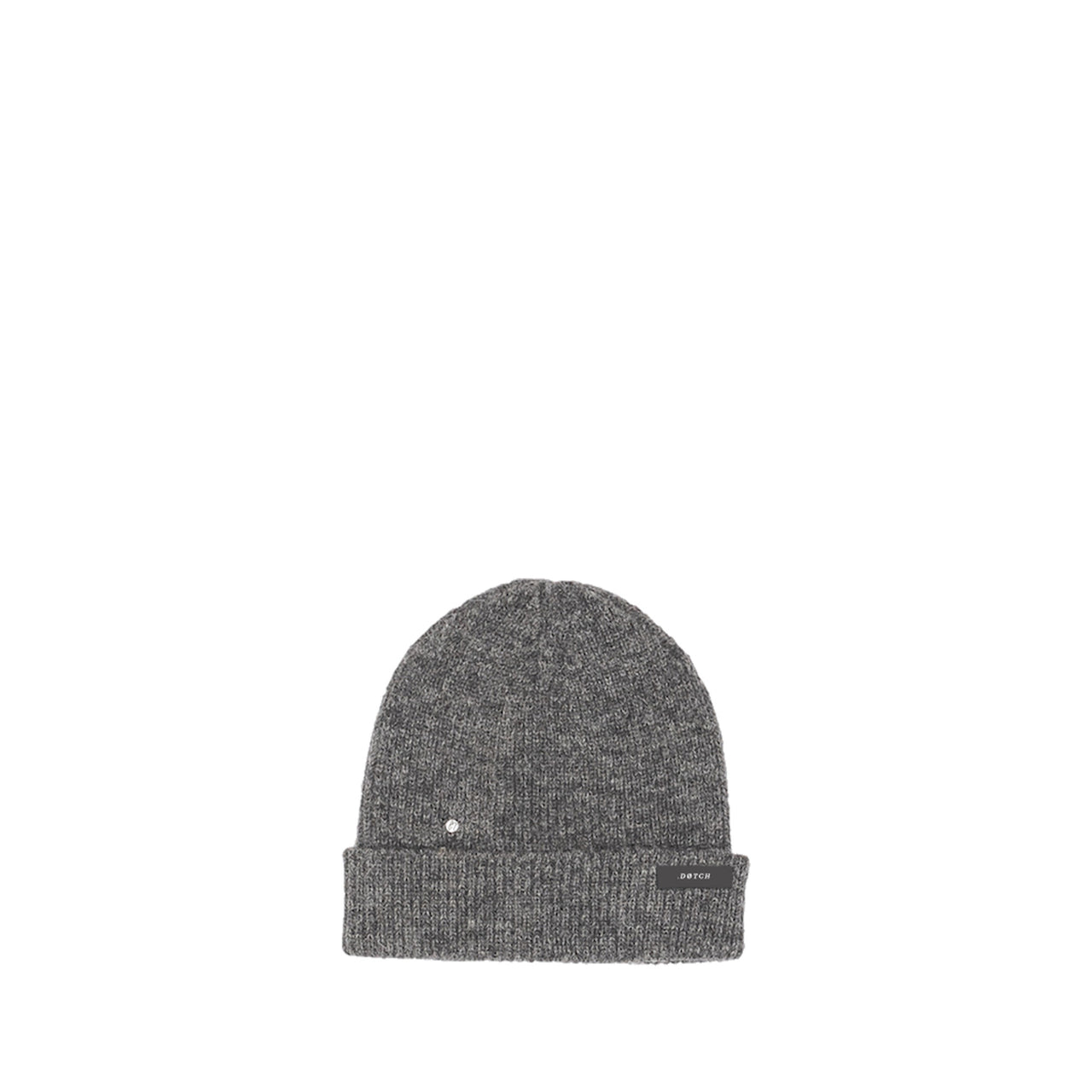 DØTCH x LN KNITS BEANIE: CHARCOAL