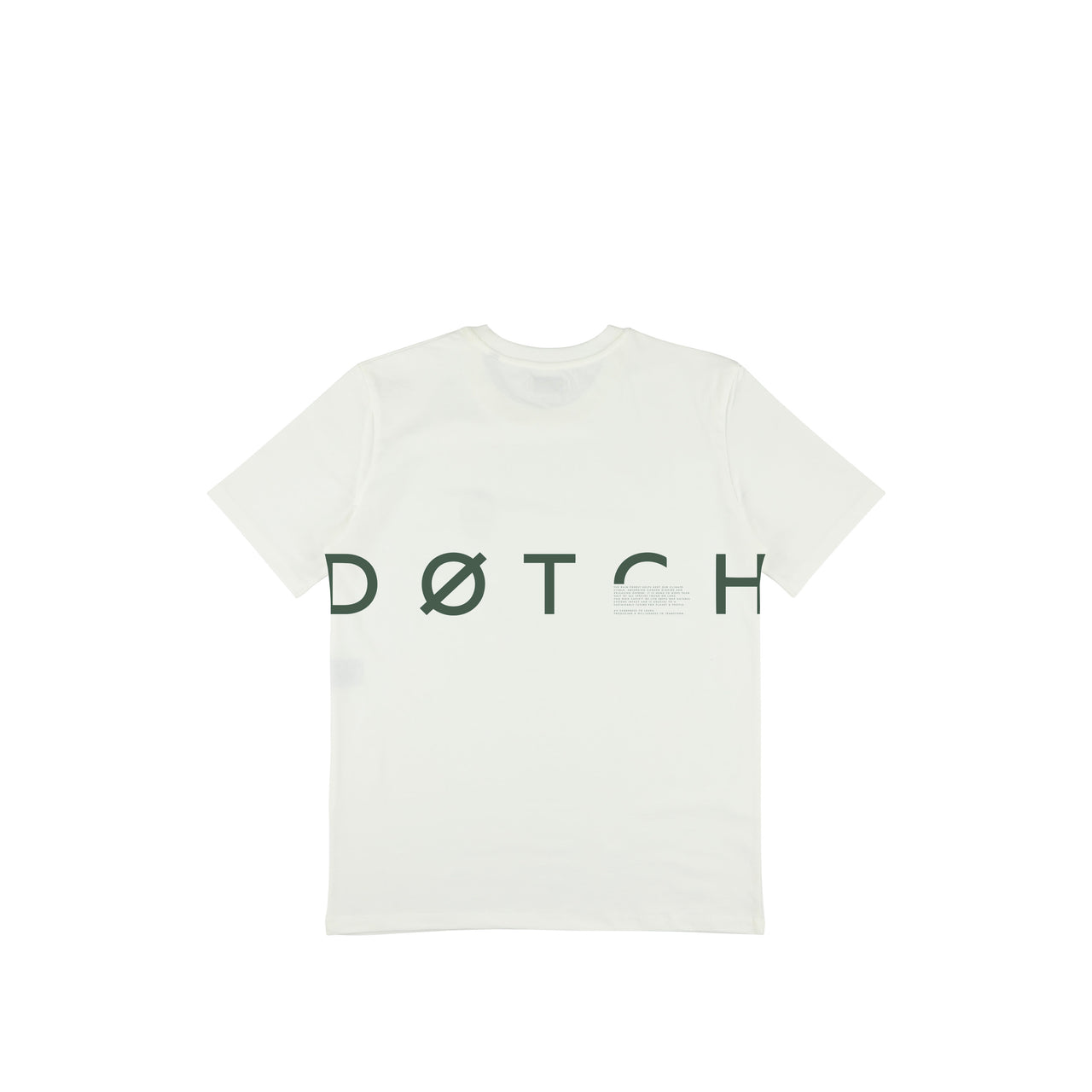 Beyond.Døtch Tee - Natural / Hunter Green