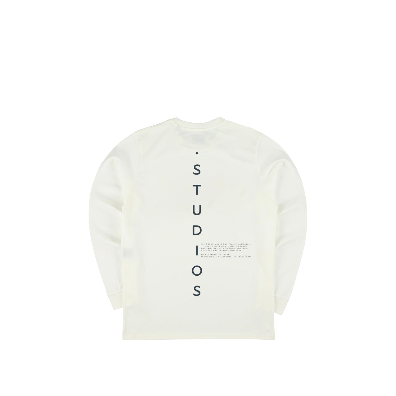 Beyond.Døtch Longsleeve - Natural / Ocean Blue