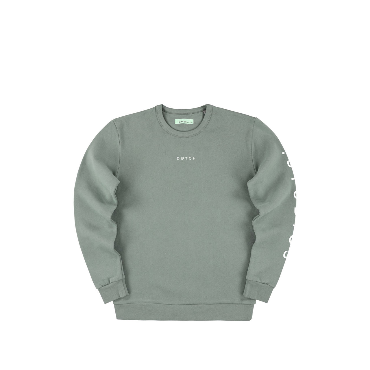 .Studio Sweater - Sage & White