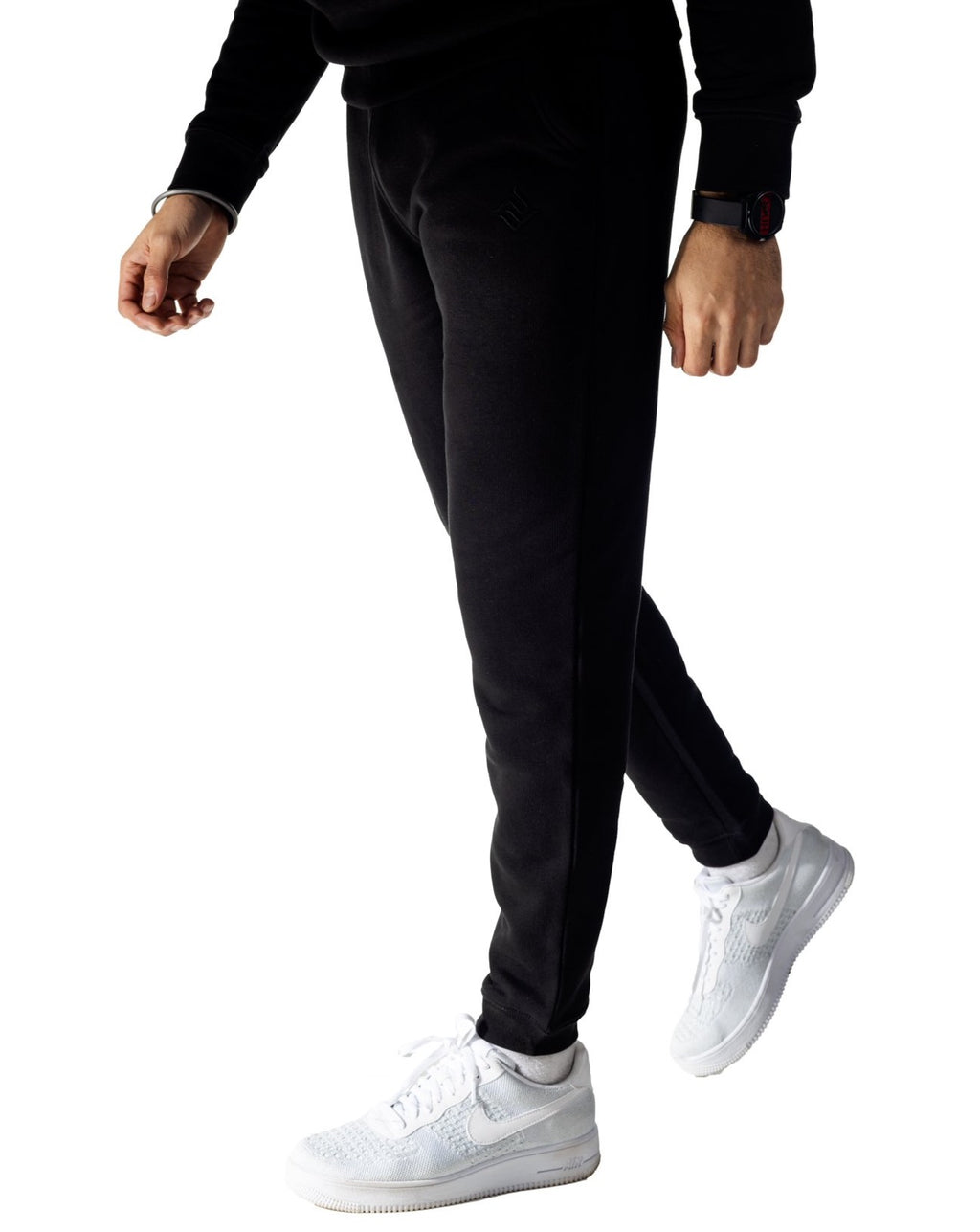 Lux PF Joggers Black | Punjabi Apparel | Panjabs Finest