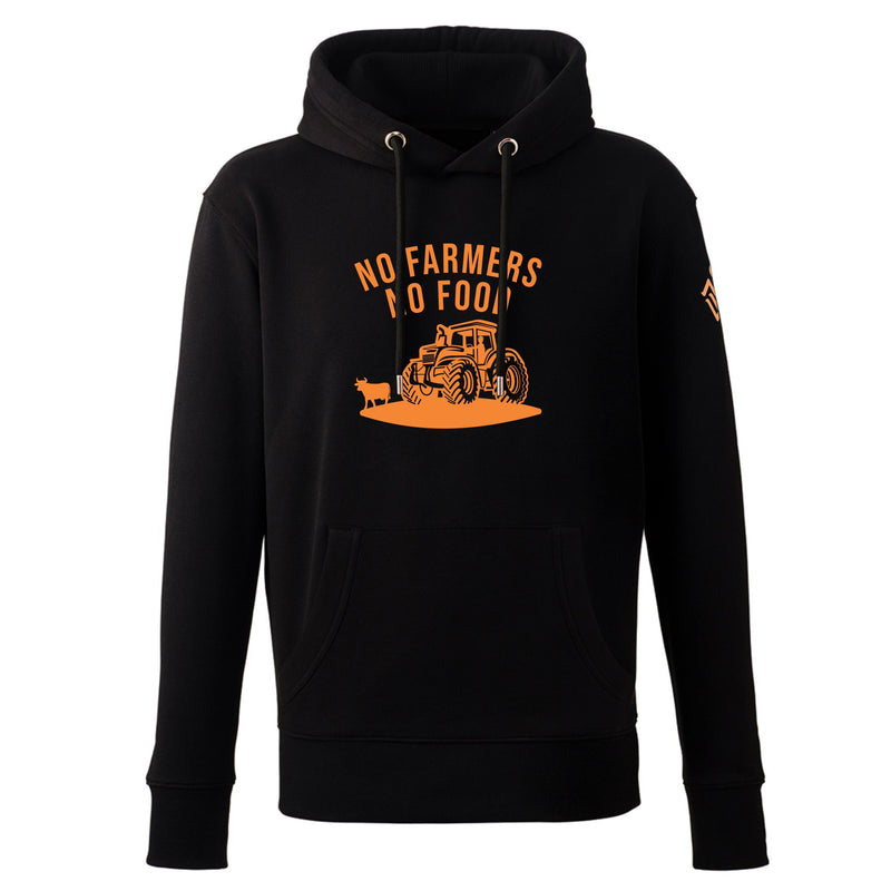 NO FARMERS NO FOOD TRACTOR HOODY
