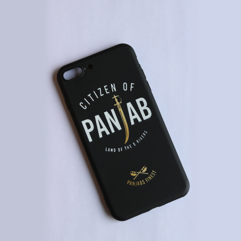 Citizen of Panjab Phone Case - Black
