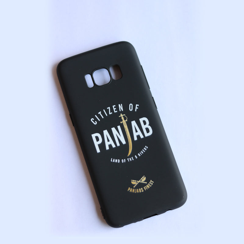 Panjab Beanie Black and Forever Green