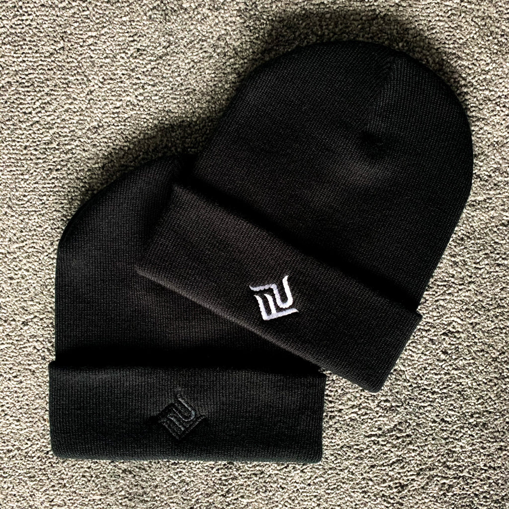 Lux PF Kids Beanie Black | Punjabi Apparel | Panjabs Finest