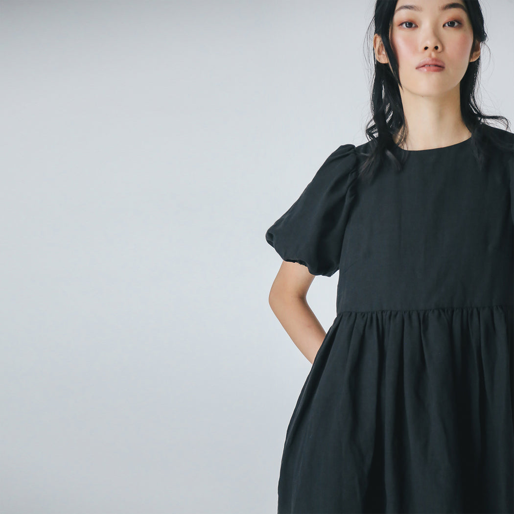 Tencel Linen Babydoll Dress