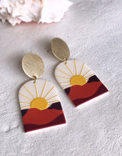 sunset boulevard earrings