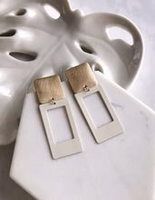 portrait earrings - lily