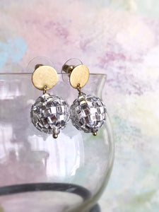 disco earrings