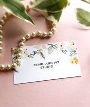 mirage earrings - brushed brass / pearl