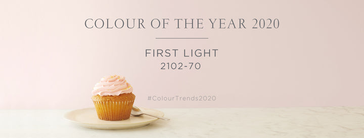 Colour of the Year Banner First Light 2102-70