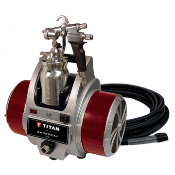 Titan Capspray 95 HVLP Airless Paint Sprayer with Maxum II Gun