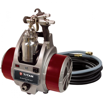 Titan Capspray 105 HVLP Airless Paint Sprayer with Maxum Elite Gun