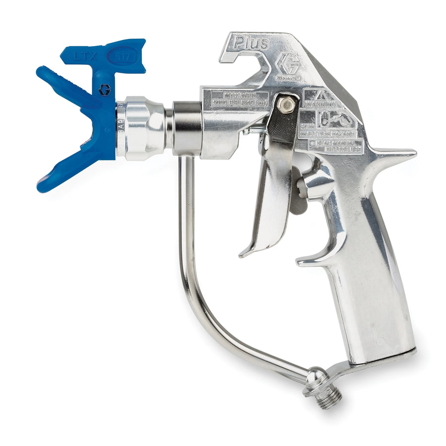 Graco Silver Plus Airless Spray Gun, 2 Finger Trigger, RAC X