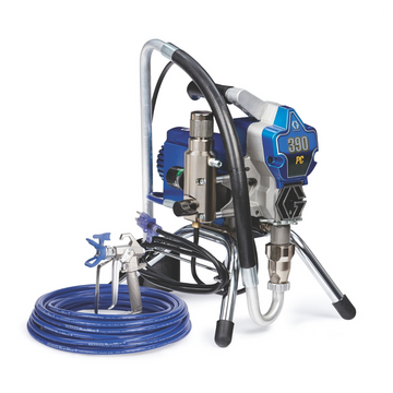 Graco 390 PC Electric Airless Sprayer Best Value Professional Paint Machine for Residential Jobs Easy to Lift and Carry