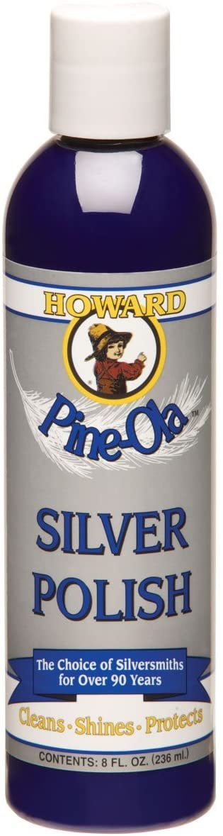Howard SP0008 Pine-Ola Silver Polish, 8-Ounce