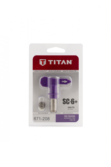 Titan SC-6+ FINE FINISH TIPS