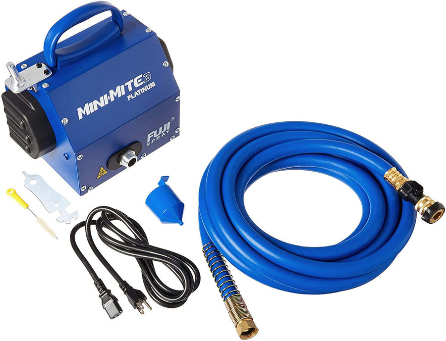 Fuji Mini-Mite 3 PLATINUM Turbine + Hose (Gun Not Included)
