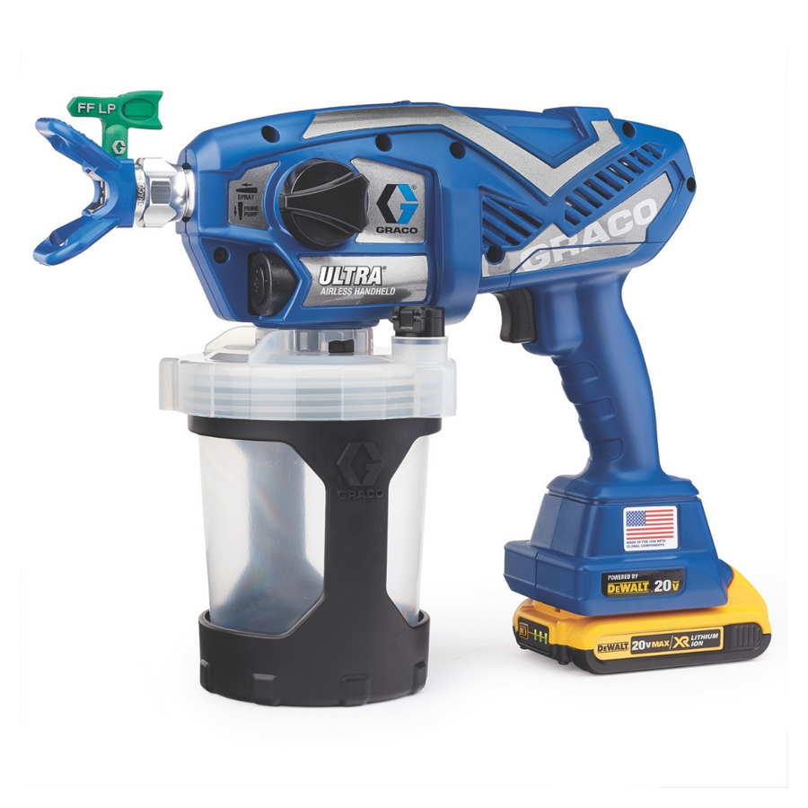 Graco Ultra Cordless Airless Handheld Paint Sprayer 17M363 - Fastest Way to Finish Small Painting Jobs