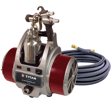 Titan Capspray 115 Fine-Finish HVLP Paint Sprayer with maxum elite gun